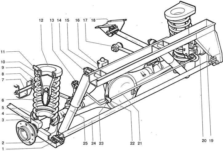 Передняя подвеска автомобиля лада приора